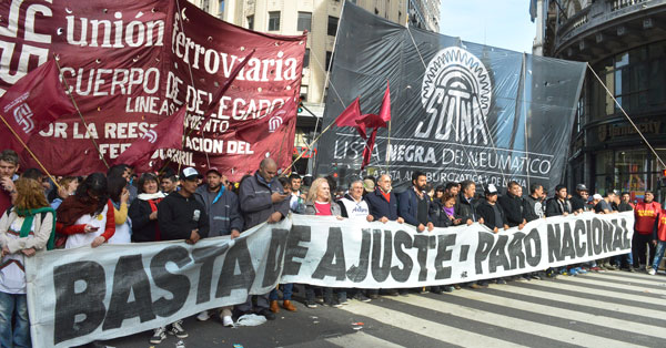 Plenario Sindical en apoyo al FIT