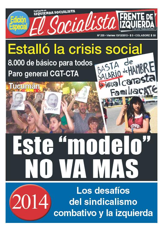 Periódico quincenal de Izquierda Socialista - Sección Argentina de la UIT-CI