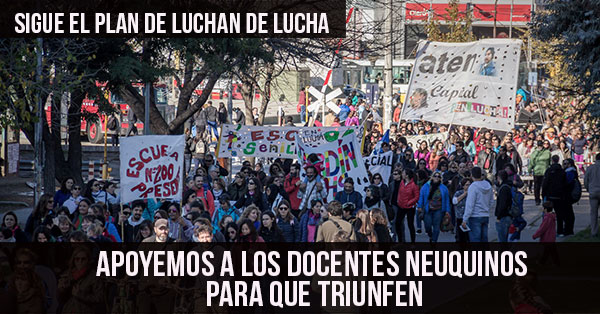 sigue el plan de lucha