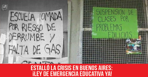 ley de emergencia educativa