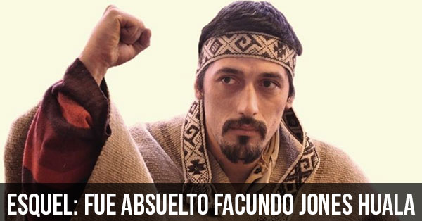 fue absuelto facundo jones huala