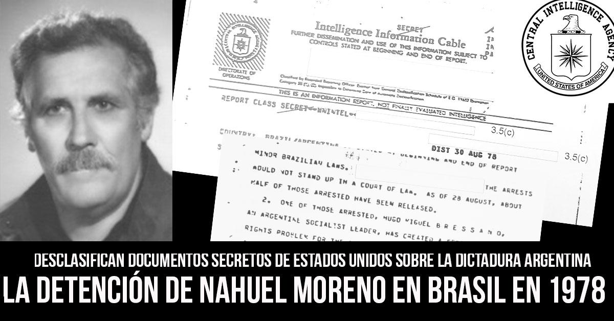 nahuel moreno en brasil