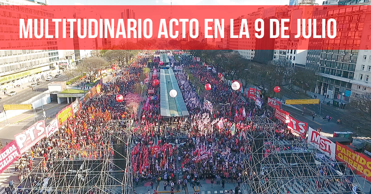 Multitudinario acto en la