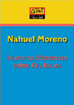 Nuestras diferencias sobre Key Issues