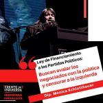 """Schlotthauer sobre la Ley de Financiamiento de los partidos políticos: """"Buscan avalar los negociados con la política y censurar a la izquierda"""""""