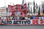 22/8, Plaza de Mayo: Marcha del sindicalismo combativo y la izquierda