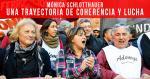 Mónica Schlottahuer: Una trayectoria de coherencia y lucha