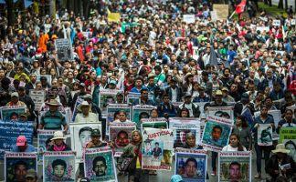 Hoy se cumplen dos años de la desaparición de los 43 estudiantes de la Escuela Normal Rural de Ayotzinapa, México.