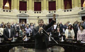 El dirigente de Izquierda Socialista, Juan Carlos Giordano, prestó juramento en el día de hoy como Diputado Nacional por la provincia de Buenos Aires.