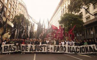 El sindicalismo combativo y la izquierda marcharán de Congreso a Plaza de Mayo el 20 de dicembre contra el ajuste de Macri y los gobernadores y la tregua de la CGT