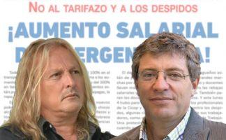 Rubén Sobrero y Juan Carlos Giordano reclaman un inmediato aumento de emergencia