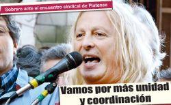 Este 25 se llevará a cabo en el Club Platense el plenario nacional del Encuentro Sindical Combativo (ESC)