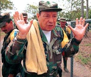 Manuel Marulanda Vélez, «Tirofijo», máximo dirigente de la FARC