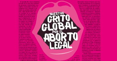 nuestro grito global por el aborto legal