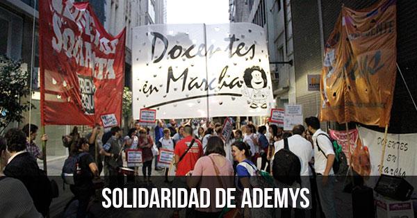 solidaridad de ademys