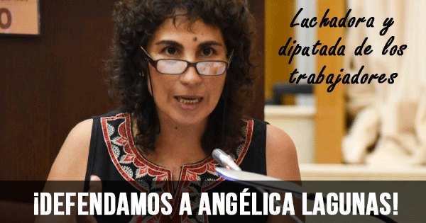 Defendamos a Angelica Lagunas