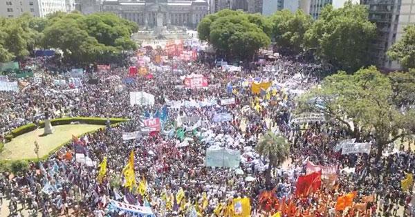 Se palpa en el aire que hubo un gran cambio después de las movilizaciones del jueves 14 y el lunes 18 de diciembre.