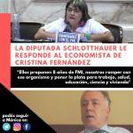 Monica Schlotthauer contra el economista de Cristina