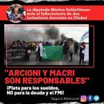 Diputada Schlotthauer responsabilizó al gobernador Arcioni y a Macri por las muertes de las dos compañeras docentes de Chubut
