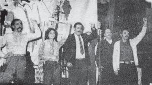Acto del PST, 1 de mayo de 1976