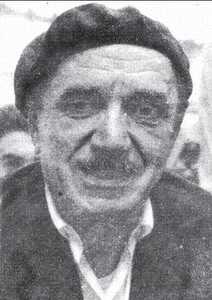 Mateo Fossa, una de sus últimas fotos, 1973