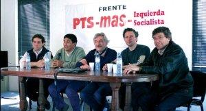 La Plata: de izquierda a derecha Carlos Platkowski, José Montes, Chino Heberling, Daniel Rodríguez y Gringo Giordano