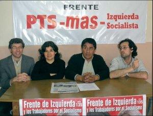 La matanza:  Giordano, Graciela Calderón, José Montes y Ariel Iglesias