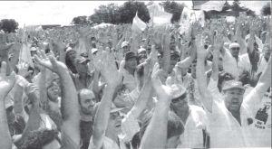 Masivo acto en Gualeguaychú