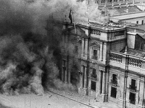 La Casa de la Moneda fue incendiada por las bombas de los fascistas