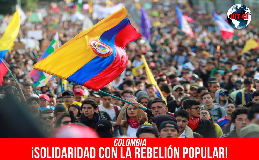 Colombia: ¡Solidaridad con la rebelión popular!