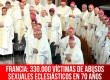 Francia: 330.000 víctimas de abusos sexuales eclesiásticos en 70 años