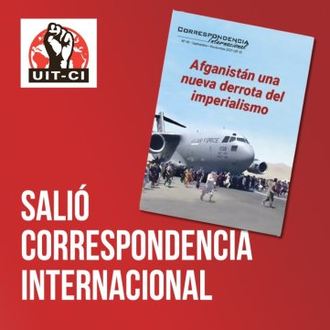 Salió Correspondencia Internacional