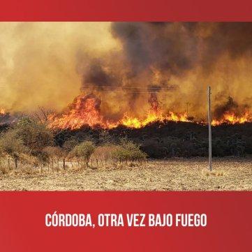 Córdoba, otra vez bajo fuego