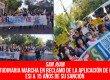 San Juan – Multitudinaria marcha en reclamo de la aplicación de la ley ESI a 15 años de su sanción