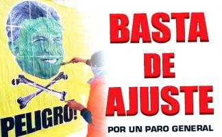 El gobierno de Macri sigue descargando un brutal ajuste sobre el pueblo trabajador y demás sectores populares.