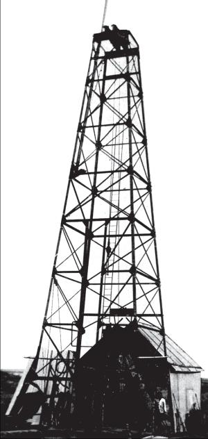 Primer pozo petrolero. Comodoro Rivadavia. Diciembre 1907