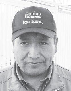 Eliseo Mamani (Bolivia) Secretario Ejecutivo Federación de Maestros ...